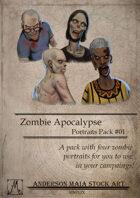 Zombie Apocalypse Portraits Pack #01