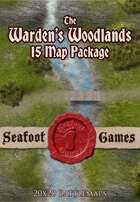 Seafoot Games - The Warden's Woodlands (15 Map Package)