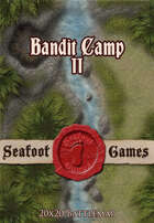 Seafoot Games - Bandit Camp II (20x20 Battlemap)