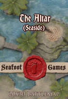 Seafoot Games - The Altar (Seaside) | 20x30 Battlemap