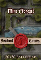 Seafoot Games - Mine (Forest) | 20x30 Battlemap