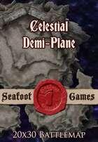 Seafoot Games - Celestial Demi-Plane | 20x30 Battlemap