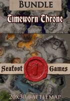 Seafoot Games - Timeworn Throne | 20x30 Battlemap [BUNDLE]