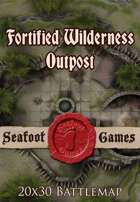 Seafoot Games - Fortified Wilderness Outpost | 20x30 Battlemap