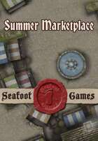 Seafoot Games - Summer Marketplace | 20x30 Battlemap