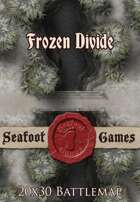 Seafoot Games - Frozen Divide | 20x30 Battlemap