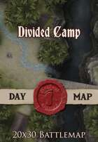 Seafoot Games - Divided Camp | 20x30 Battlemap