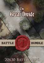 Seafoot Games - The Great Divide | 20x30 Battlemap [BUNDLE]
