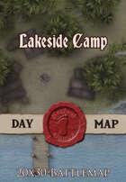 Seafoot Games - Lakeside Camp | 20x30 Battlemap