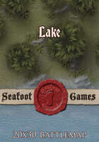 Seafoot Games - Lake | 20x30 Battlemap