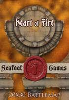 Seafoot Games - Heart of Fire | 20x30 Battlemap