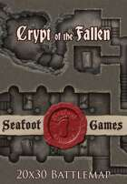 Seafoot Games - Crypt of the Fallen | 20x30 Battlemap