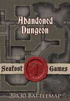 Seafoot Games - Abandoned Dungeon | 20x30 Battlemap
