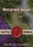 Seafoot Games - Jungle   20x30 Battlemap [BUNDLE]
