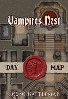 Seafoot Games - Vampires Nest | 20x30 Battlemap