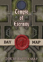Seafoot Games - Temple of Eternity | 20x30 Battlemap