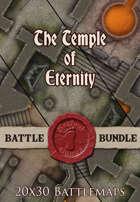 Temple of Eternity | 20x30 Battlemap [BUNDLE]