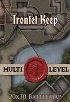 Seafoot Games - Ironfel Keep | 20x30 Battlemap