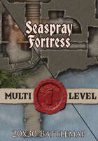 Seafoot Games - Seaspray Stronghold | 20x30 Battlemap