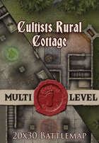 Seafoot Games - Cultists Rural Cottage | 20x30 Battlemap