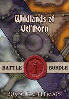 Wildlands of Vel'horn | 20x30 Battlemaps [BUNDLE]