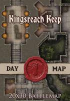 Seafoot Games - Kingsreach Keep | 20x30 Battlemap