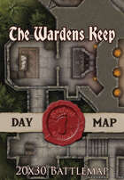 Seafoot Games - The Wardens Keep | 20x30 Battlemap