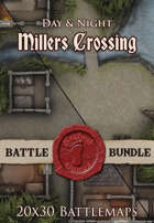 Millers Crossing | 20x30 Battlemaps [BUNDLE]