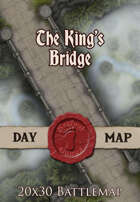 Seafoot Games - The King's Bridge | 20x30 Battlemap