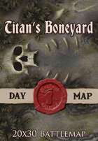 Seafoot Games - Titan's Boneyard | 20x30 Battlemap