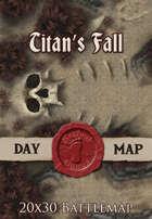 Seafoot Games - Titan's Fall | 20x30 Battlemap