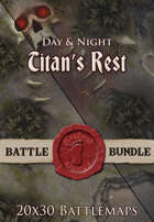 Titan's Rest | 20x30 Battlemaps [BUNDLE]