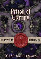 Prison of Eternity | 20x30 Battlemap [BUNDLE]