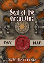 Seafoot Games - Seal of the Great One | 20x30 Battlemap