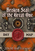 Seafoot Games - Broken Seal of the Great One | 20x30 Battlemap