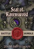 Seal of Ravenswood | 20x30 Battlemap [BUNDLE]