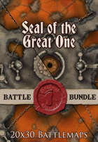 Seal of the Great One | 20x30 Battlemap [BUNDLE]