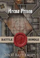 Arena Prison | 20x30 Battlemaps [BUNDLE]