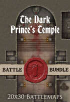 Seafoot Games - The Dark Prince's Temple   40x30 Battlemap