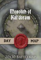 Seafoot Games - Monolith of Kal'doram | 20x30 Battlemap