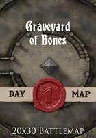 Seafoot Games - Graveyard of Bones | 20x30 Battlemap