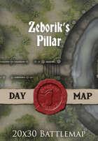 Seafoot Games - Zeborik's Pillar | 20x30 Battlemap