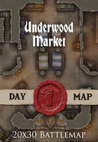 Seafoot Games - Underwood Market | 20x30 Battlemap