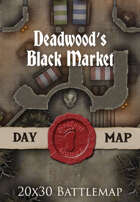 Seafoot Games - Deadwood's Black Market | 20x30 Battlemap