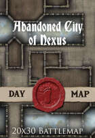 Seafoot Games - Abandoned City of Nexus | 20x30 Battlemap