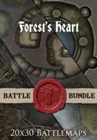Forest's Heart | 20x30 Battlemaps [BUNDLE]