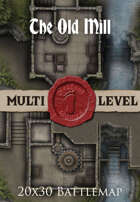Seafoot Games - The Old Mill | 20x30 Battlemap