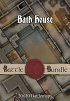 Bath House | 20x30 Battlemaps [BUNDLE]