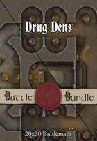 Drug Dens | 20x30 Battlemaps [BUNDLE]