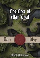 Seafoot Games - The Tree of Ulan'Thal | 20x30 Battlemap